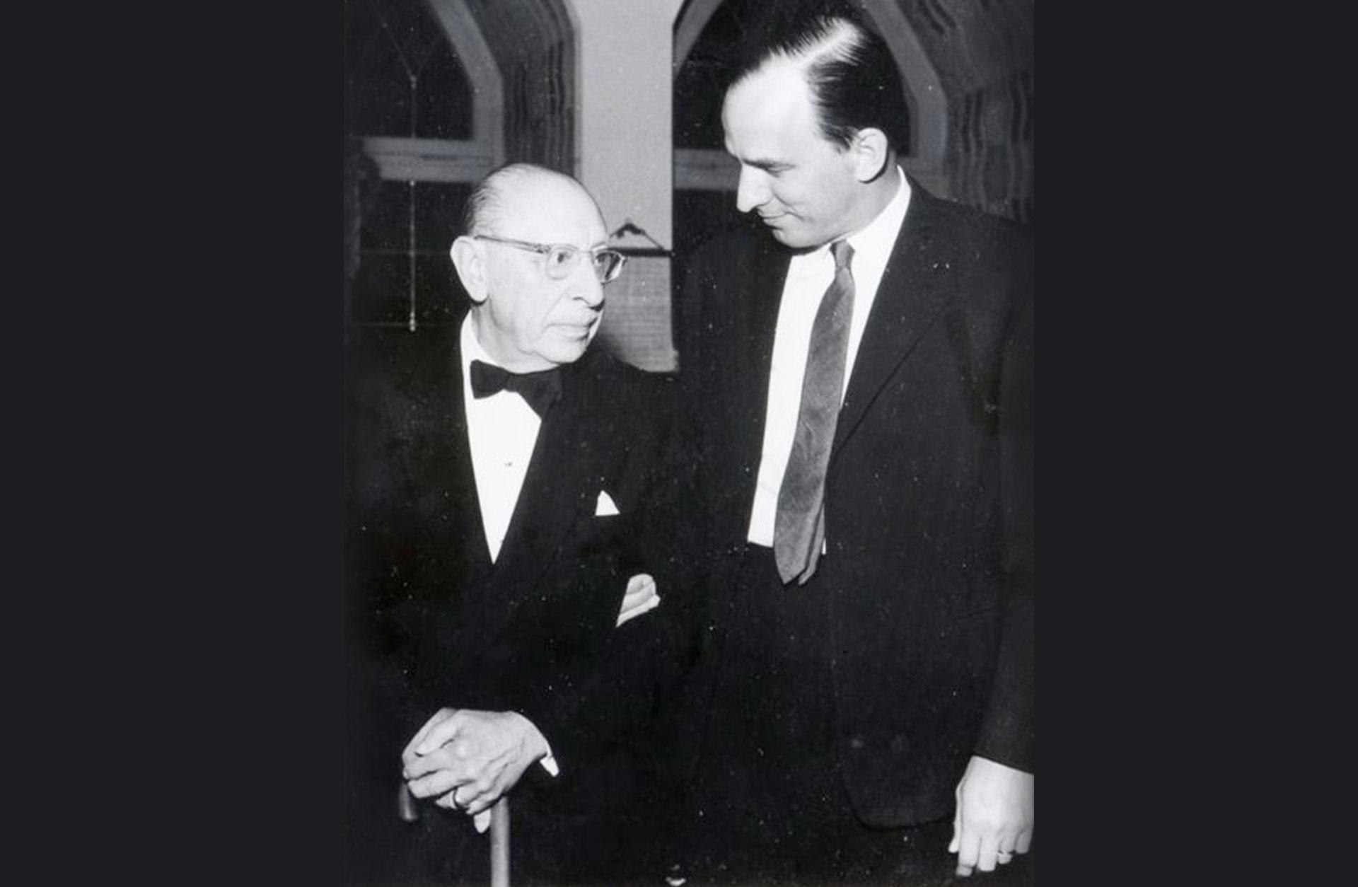 Igor Stravinsky och Ingmar Bergman