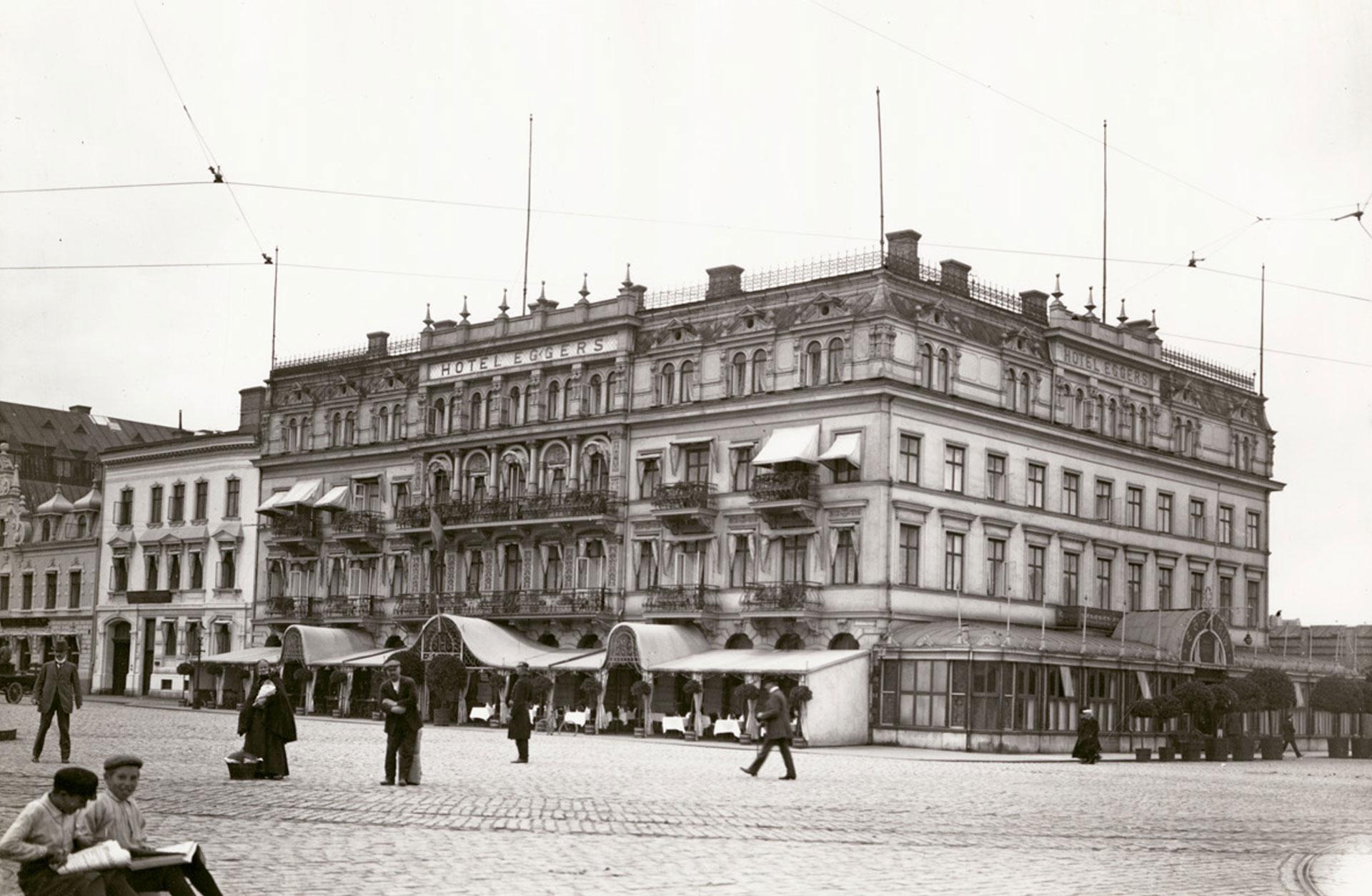 Hotell Eggers, arkivbild