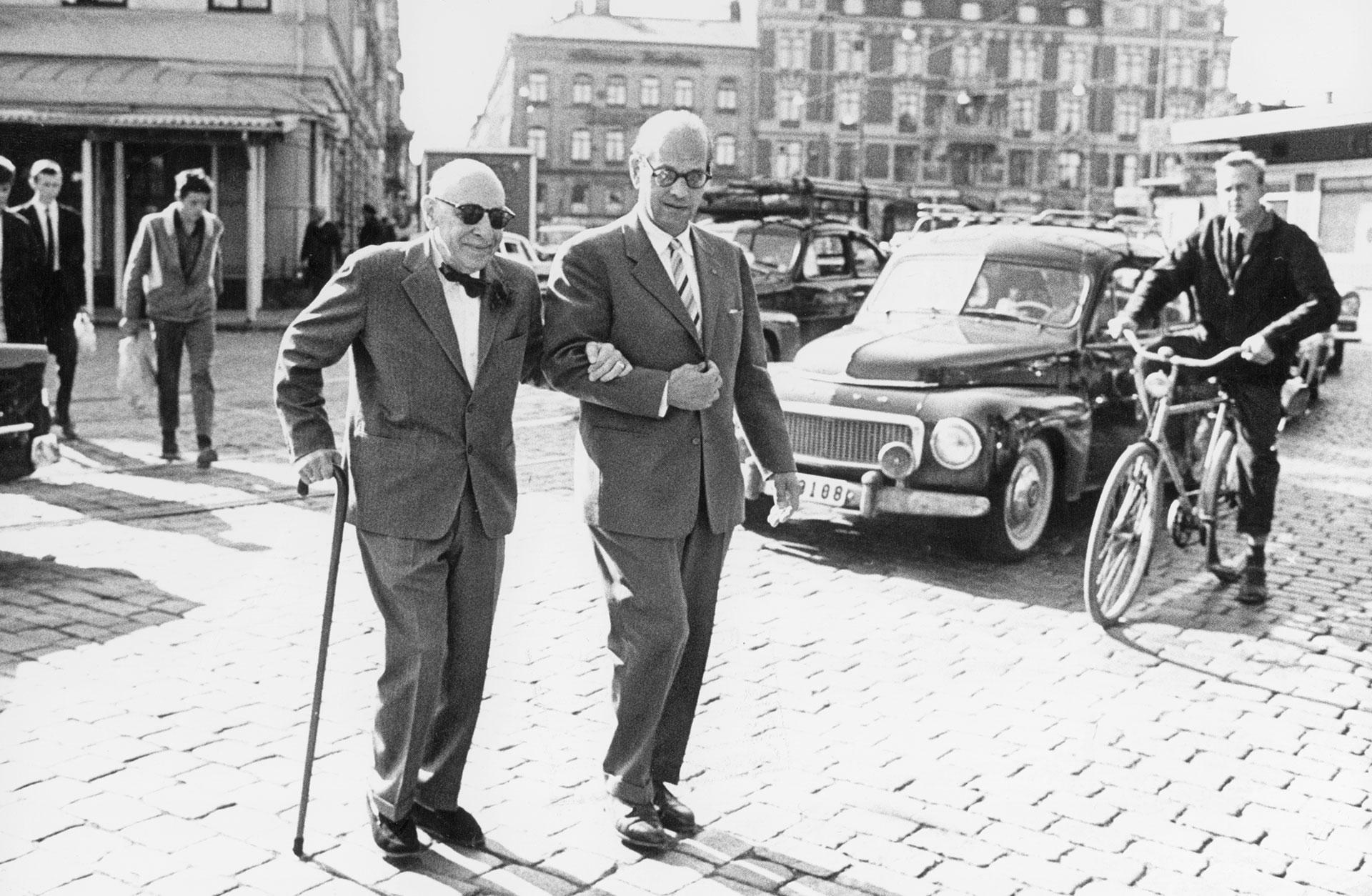 Igor Stravinsky i Stockholm