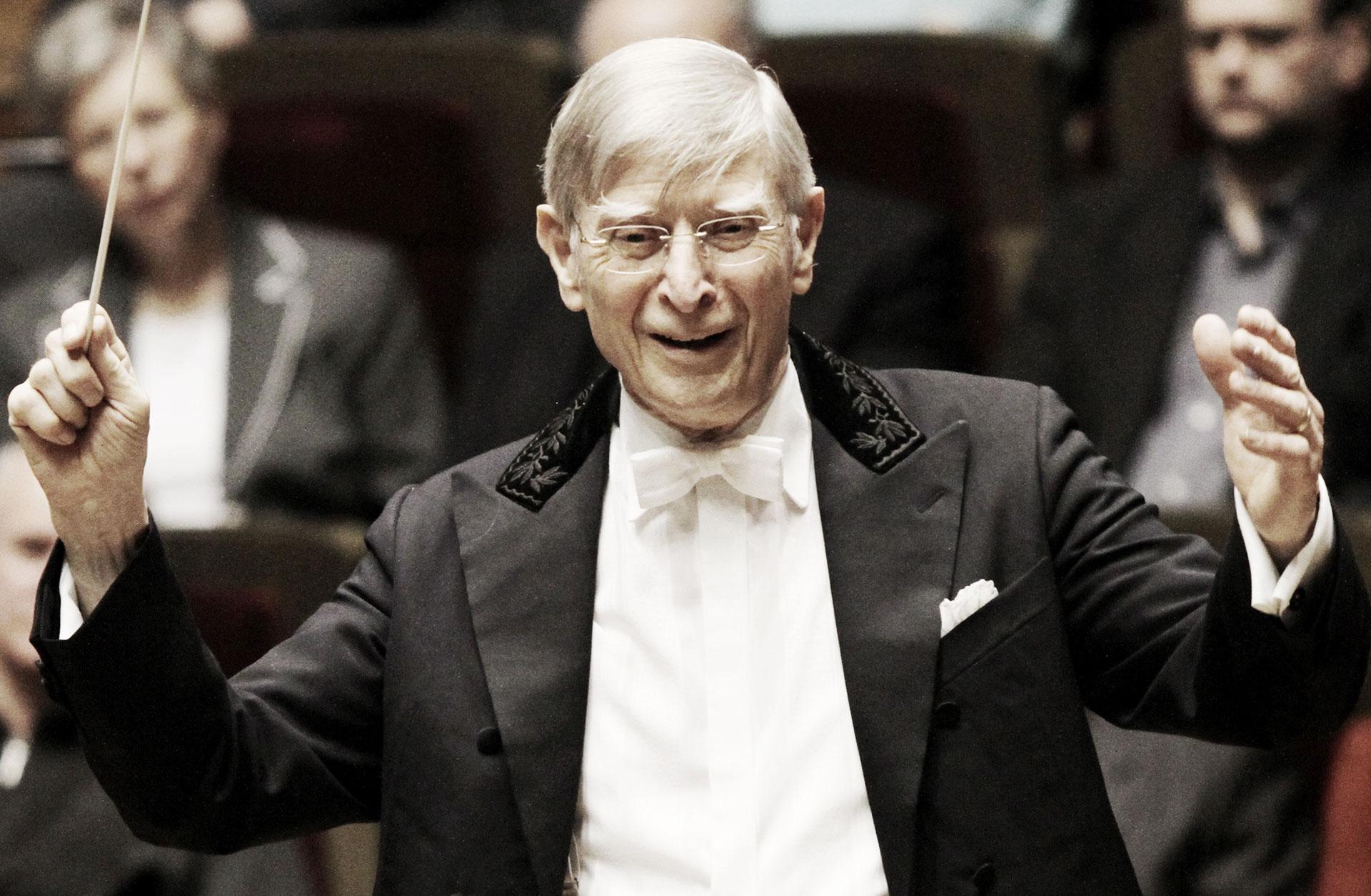 Herbert Blomstedt i frack.