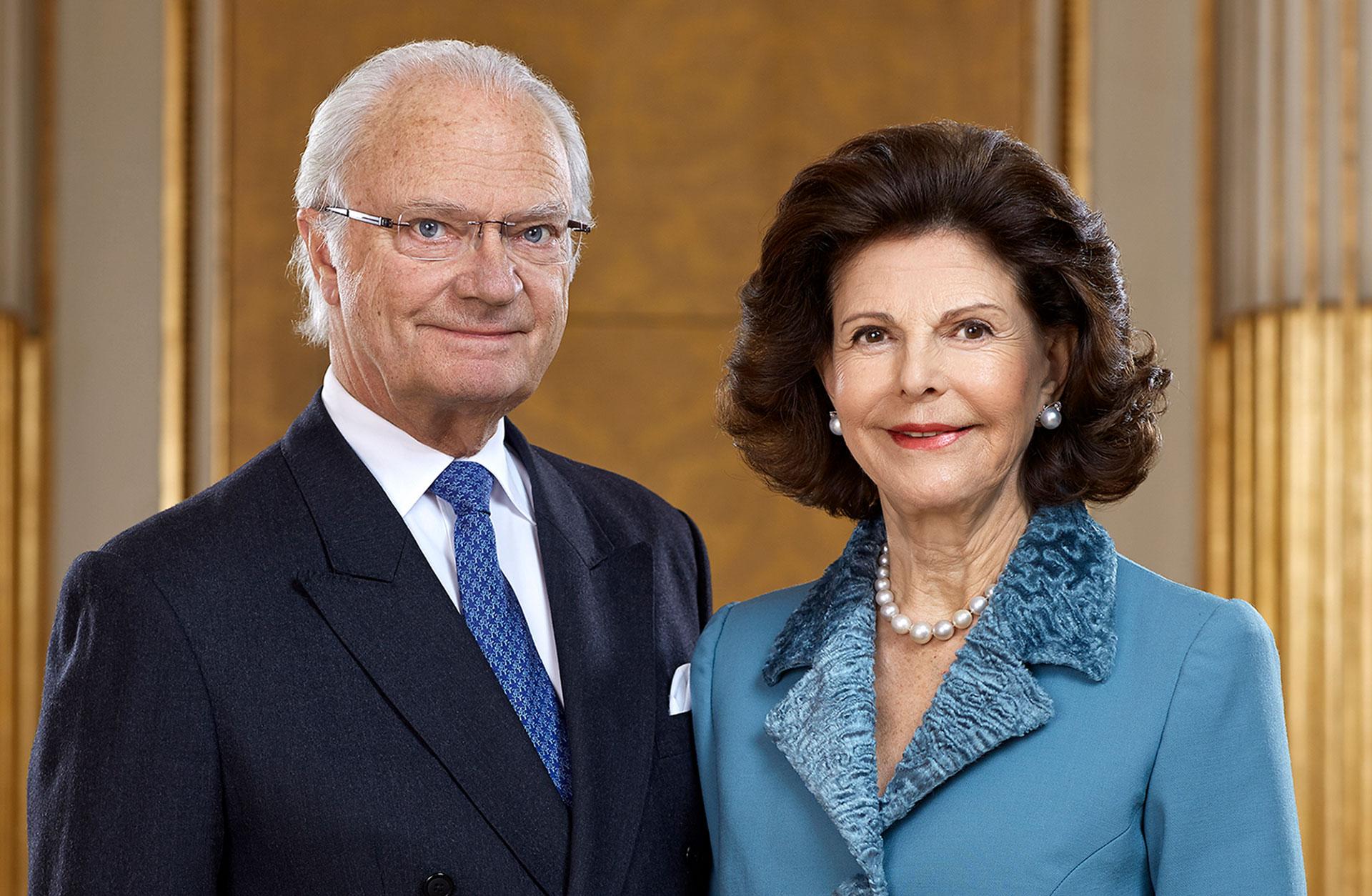 DD.MM. Konung Carl XVI Gustaf och Drottning Silvia