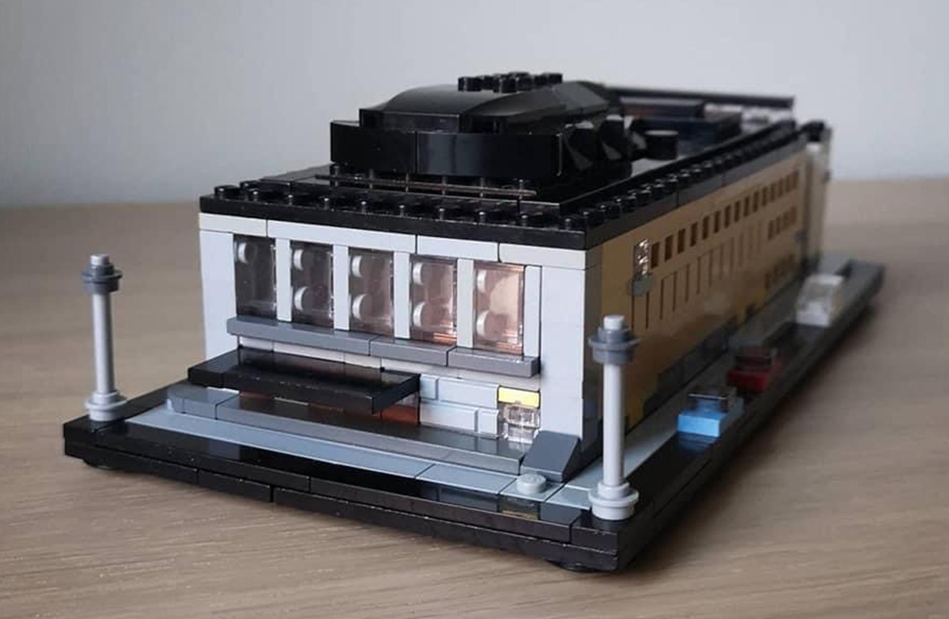 Göteborgs Konserthus byggt av Lego